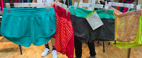 women's fitness shorts manufacturer samples