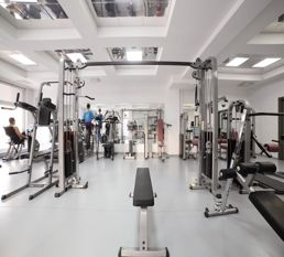 black home gym factory
